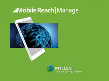 Intelsat presentó Mobile Reach Manage