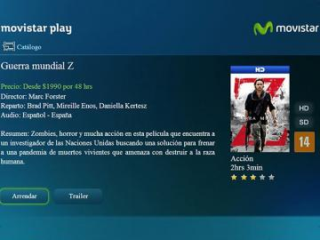 Movistar lanza servicio Play en Chile