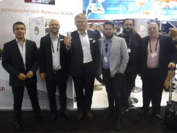 Aveco lanza en IBC el motor de video Redwood BLACK para sistemas PCR y MCR