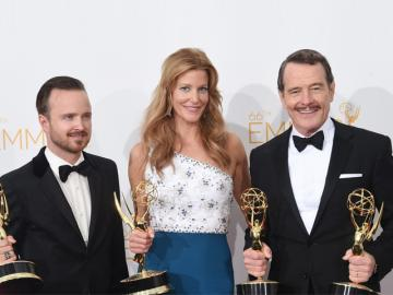 'Breaking Bad' la gran ganadora de los Emmy