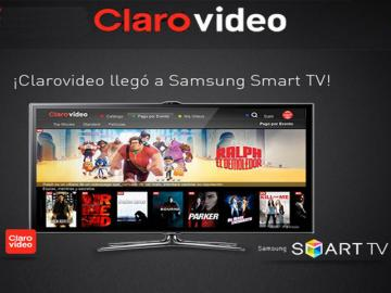 Clarovideo en Samsung Smart TV