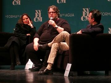 Del Toro presentó 'The Shape of Walter' en el FICM