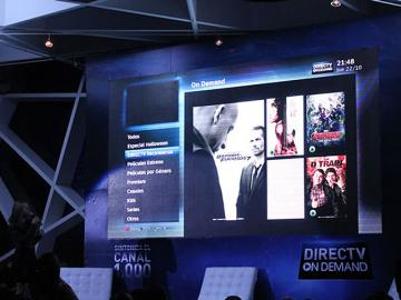 DirecTV lidera la experiencia On Demand