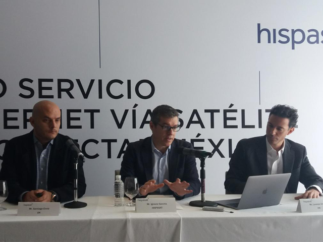 Dish e Hispasat conectan México mediante ON Internet