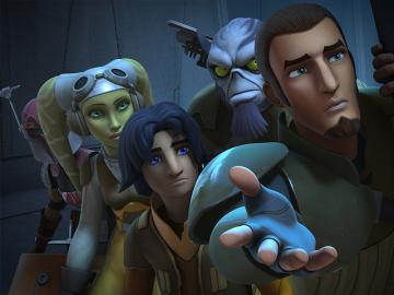 Disney XD entrena 'Star Wars Rebels: Estado de Sitio en Lothal'