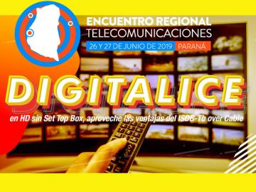 "Encuentros Regonales tendrá el taller ""Digitalice en HD sin Set Top Box"""