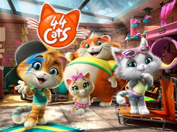 Estados Unidos: Rainbow coloca '44 Cats' en Nickelodeon