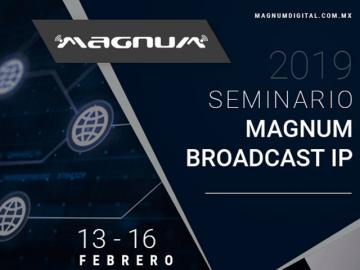 Evento de tecnologías IP 2019 de Magnum Audio y Video