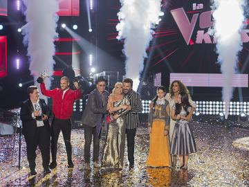 Final de 'La Voz Kids' lideró audiencia en México