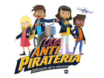 FOX lanza iniciativa educativa contra la piratería