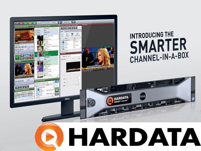 Hardata con soluciones de video 'Channel-in-a-box' - Tecnología