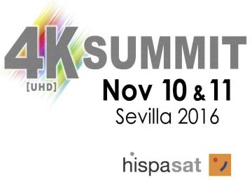 Hispasat emitirá en vivo el 4K World Summit
