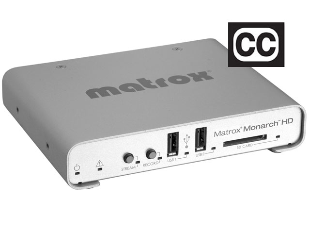 Matrox integra la función closed caption a su Monarch HDX