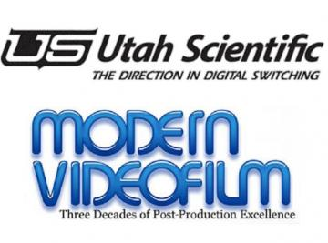 Modern VideoFilm elige switchers de enrutamiento de Utah Scientific