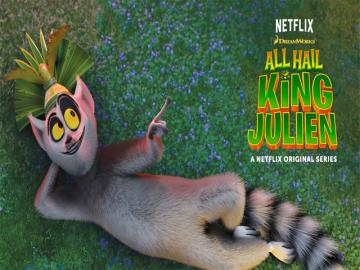 Netflix estrena la serie animada 'All Hail King Julien'