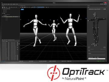 Optitrack y Artec demuestran el sistema Motion Capture