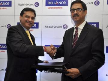 Reliance Communications y Alcatel-Lucent firman contrato de servicios gestionados de red de extremo a extremo