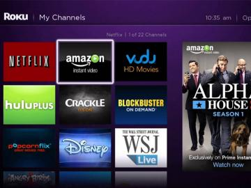 Roku agrega Amazon Prime Video