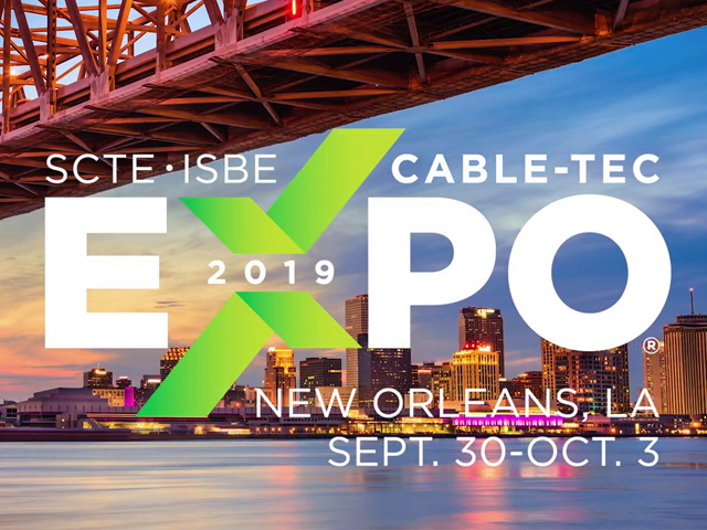SCTE • ISBE Cable-Tec Expo 2019