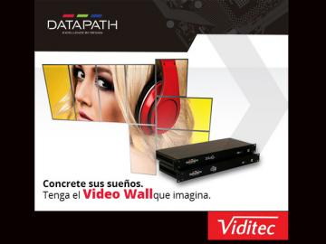 Showroom de Viditec y DATAPATH sobre la tecnología en Video Wall