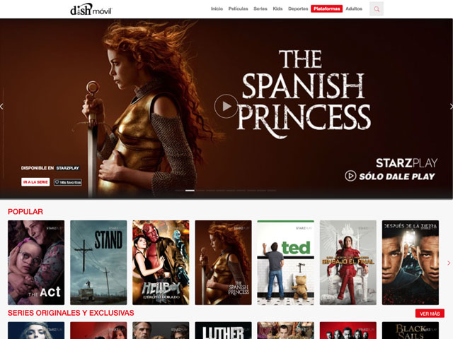 Starzplay ya está disponible en Dish México