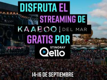 Stingray Qello nominado socio exclusivo para el streaming de Kaaboo del Mar