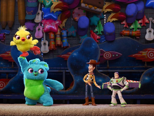 TOY STORY 4 rompe records en Argentina