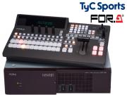 TyC Sports invierte en switchers FOR-A